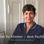 Andrea Hofmann bei Paypal Stories